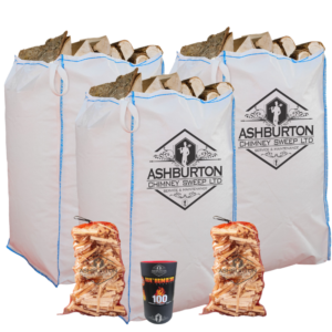 Kiln dried logs barrow bag bundle special offer